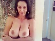 Absolute Stunning Russian Mature Wife with Big Boobs Totally Nude
