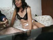 Mature South American wife suck and fuck