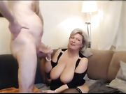 Superb Mature Wife with Huge Tits Wants a Fuck and Creampie
